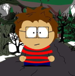 Me as if I were in South Park