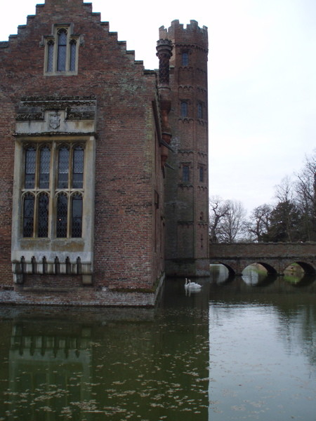 Oxburgh Hall - The Moat