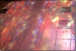 28 - Stained glass and sunlight