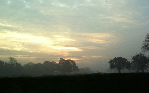 early morning near Shustoke, Warks