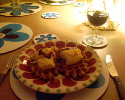 Real Belgian Waffles, made by my favourite Belgian