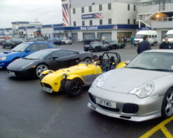 Silverstone Track Day Car Park