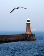 Lighthouse at Tynemouth