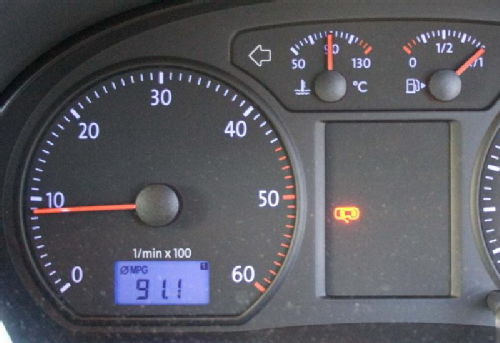 91.1mpg in a VW Polo Bluemotion