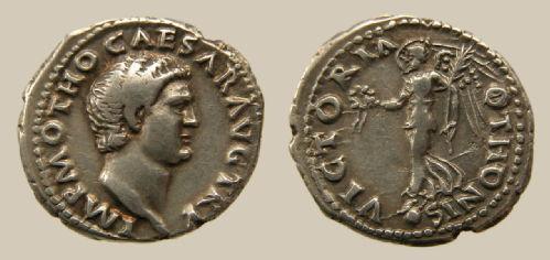 denarius of otho from rome RIC 17