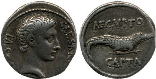 aegypto capta denarius