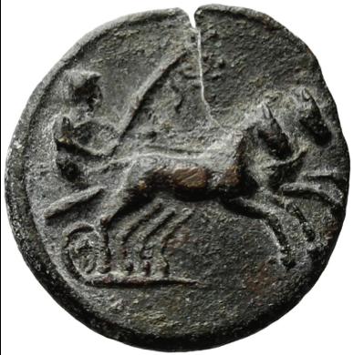 charioteer token