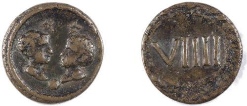 token showing sons of Drusus