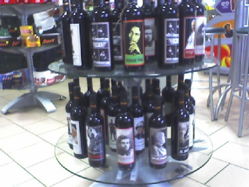 Bizarre wine bottles