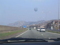 Bangor view from the car..