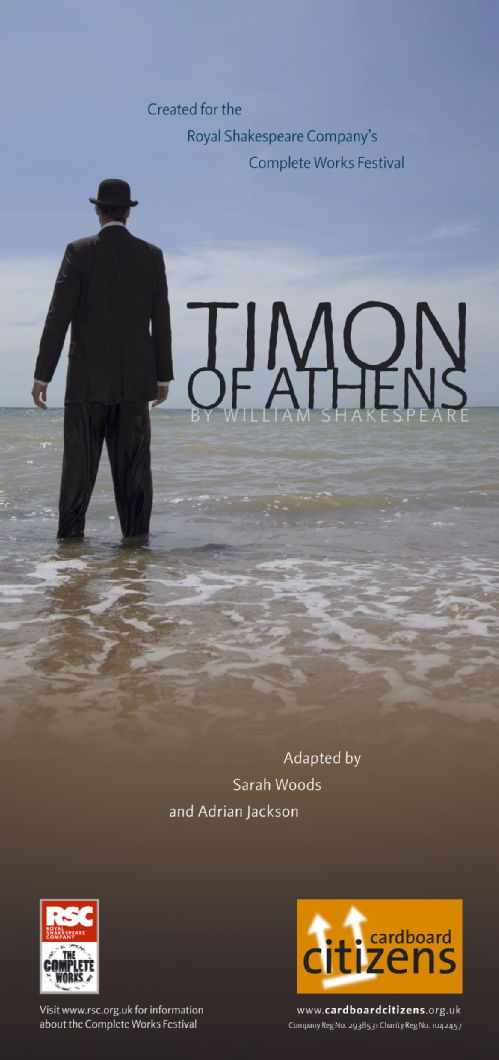 Timon Of Athens promotional poster