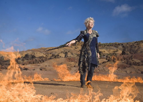 Helen Mirren as Prospera