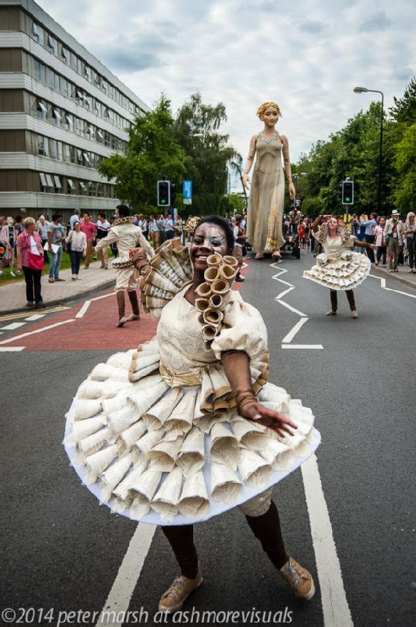 Lady Godiva puppet at Warwick 2