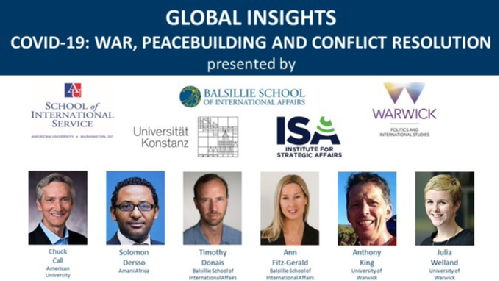 Global Insights Peacebuilding and COVID