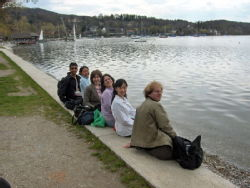 Indian, english, taiwanese, chinese, french, spanish...all in Germnay, at Ammer Lake