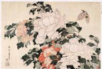 hokusai butterfly