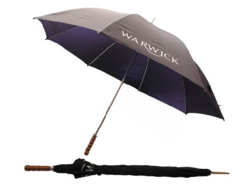 i am under the warwick umbrella