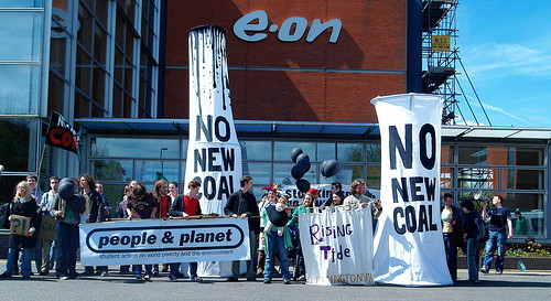 E.ON Protest