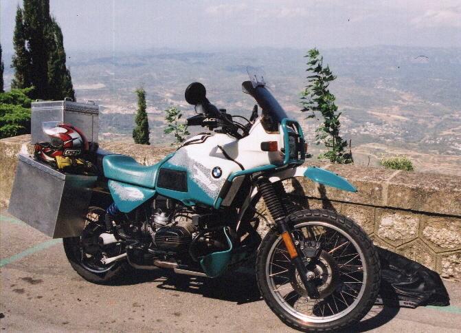 BMW GS Motorcycles, Transversality - Robert O'Toole