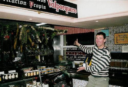 Martin in Leon bar