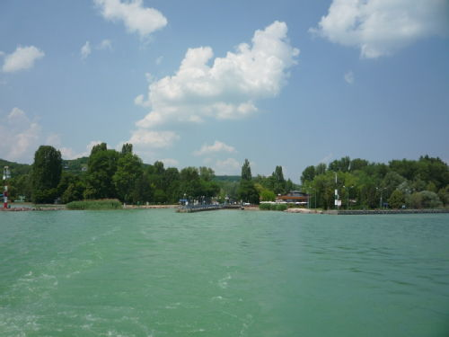 Balaton from the ferry