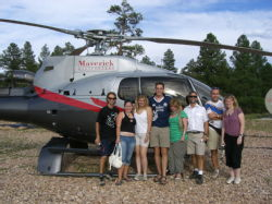 Helicopter flight (Grand Canyon)