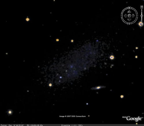 Stargate Atlantis' Pegasus Galaxy