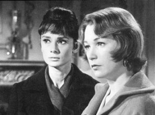 Audrey Hepburn and Shirley MacLaine in THE CHILDRENS HOUR (1961)
