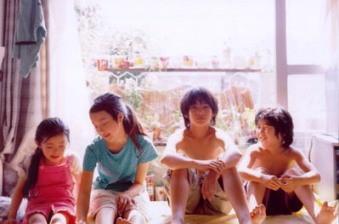 Momoko Shimizu, Ayu Kitaura, Yûya Yagira and Hiei Kimura - the effervescent child stars of NOBODY KNOWS (2004)