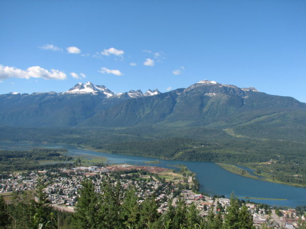 05 Revelstoke from 'The Meadows in the Sky' trail
