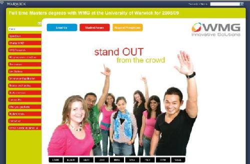 WMG :: Masters Programmes | Student Portal