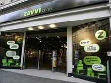 Zavvi Store Front