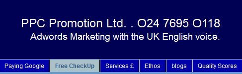 PPC Promotion Ltd Site Heading