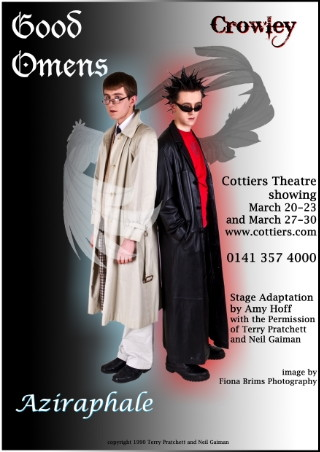 Good Omens Play Crowley & Aziraphale