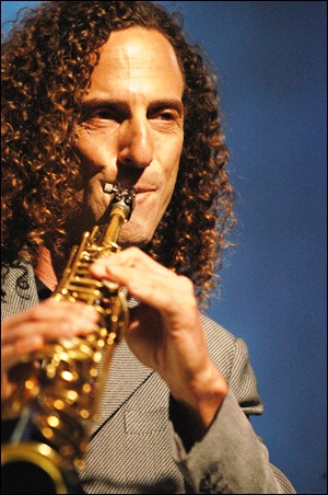 Kenny G, Saxaphone player
