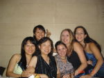 me with friends at my leaving do in Taiwan
