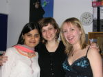 Manveen, Tina and me