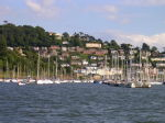 16 Dartmouth viewed from the car ferry