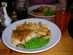 56 Pie and peas at the Hope & Anchor Inn, Hope Cove