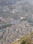 Entrevaux - view from Citadel