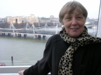 Jan on the London Eye