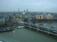 Hungerford Bridge / the Adelphi