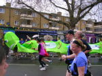 London marathon - caterpillar