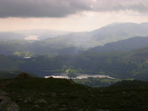 View of Grasmere and Coniston