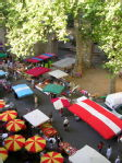 Saturday market in Ceret
