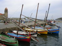 Boats in Collioure