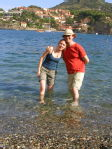 Me and Adam in Collioure