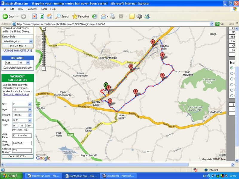 All Entries Tagged Running LEtrangère - Run calculator map