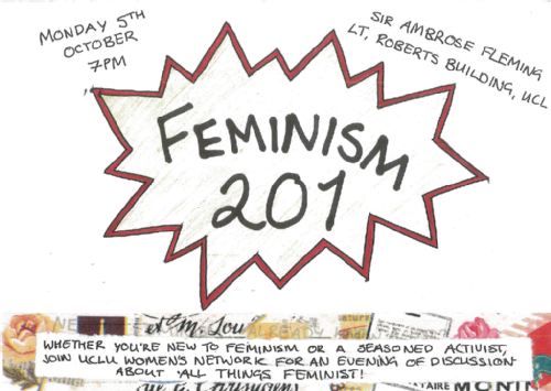 Feminism 201 poster