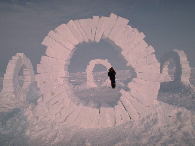 Andy Goldsworthy Ice Rings